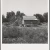 Another home recently self-built in one of several shacktown communities around Yakima. Washington, Yakima, Sumac Park.