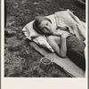 Sick migrant child. Washington, Yakima Valley, Toppenish