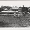Washington, Yakima. Progressive housing on half acre in Yakima shacktown.