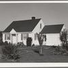 Washington, Cowlitz County, Longview. Home on Longview homestead project.