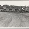 Squatter camp entering potato town. Malin, Klamath County, Oregon. General caption number 64.