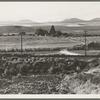 Ranch in Finger Valley of eastern Oregon. On U.S. 30, Baker County, Oregon