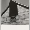 Detail of barn in northern Oregon. Irrigon, Morrow County, Oregon