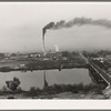 Sugar beet factory (Amalgamated Sugar Company) along Snake River. Nyssa, Malheur County, Oregon, a one factory town. General Caption number 70.