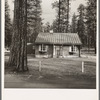 Type house in model lumber company town for millworkers. Gilchrist, Oregon. See general caption 76.