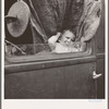 Baby from Mississippi parked in truck at FSA (Farm Security Administration) camp, Merrill, Oregon. See general caption 62.