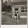 Post office in company lumber town. Gilchrist, Oregon. See general caption 76