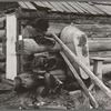 Bathrooms are scarce. Farm of ex mill-worker. Bonner County, Idaho. See general caption 49