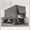 The power unit. FSA (Farm Security Administration) mobile camp. Merrill, Klamath County, Oregon. See general caption 62.