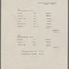 Manuscript Lists