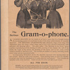 Advertisements for The Berliner Gram-O-Phone, from an unidentified publication
