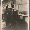 Thomas A. Edison with his phonograph