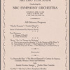 The National Broadcasting Company Present Arturo Toscanini conducting the NBC Symphony Orchestra: All-Debussy Program
