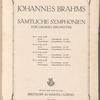 Brahms. Symphonies, no.1, op. 68, C minor