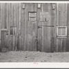 Detail of barn on Al Richard's place near Wallingford, Iowa. Owned by absentee owner. No repair on barn in twenty years.