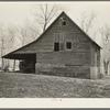 Building on Elmer Nelson farm near Wallingford, Iowa. This farm is owned by a loan company