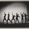Silhouetted dancers, no. 2