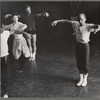 Jerome Robbins rehearses dancers for West Side Story, no. 325