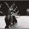 Jerome Robbins rehearses dancers for Dybbuk, no. 334