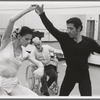 Jerome Robbins rehearsing dancers for In the Night, no. 350