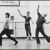 Jerome Robbins rehearses male dancers, no. 377