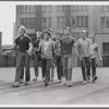 David Winters, Harvey Hohnecker, Tony Mordente, Burt Michaels, Eliot Feld, others as members of the Jets, no. 2