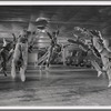 Male dancers as the Jets leaping in the Cool sequence of the film version, no. 27