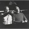 George Balanchine and Jerome Robbins