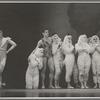 Dancers including Jerome Robbins (far left) in Helen of Troy