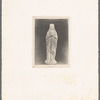 Print of a Mother Mary statue