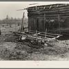 "Crude ""wagon sled"" on the Bodray farm near Tipler, Wisconsin"