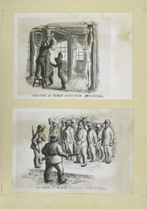 Drawings of German Occupation Atrocities.