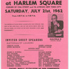 Mass Rally at Harlem Square