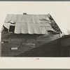 Roof of corn crib on J.E. Herbrandson's farm near Estherville, Iowa