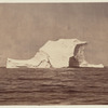 Iceberg which, from its peculiar shape, would be selected to make fast to