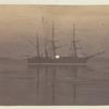 The steamer under the midnight sun
