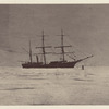 """The """"Panther"""" fast in the field-ice in Melville Bay"""