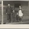Gernie Marshall and family, near Ringgold, Iowa
