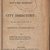 New York City directory, 1817/18