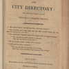 New York City directory, 1815/16