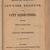 New York City directory, 1813/14