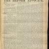 The Reform advocate, Vol. 10, no. 1