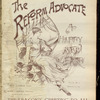 The Reform advocate, Vol. 10, no. 4