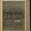 The Reform advocate, Vol. 32, no. 4