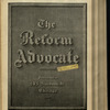 The Reform advocate, Vol. 32, no. 5