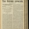 The Reform advocate, Vol. 32, no. 5