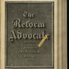 The Reform advocate, Vol. 32, no. 6