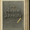 The Reform advocate, Vol. 32, no. 7