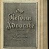 The Reform advocate, Vol. 32, no. 8