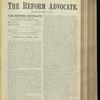 The Reform advocate, Vol. 32, no. 8
